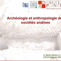 UE568 – Archéologie et anthropologie des sociétés andines